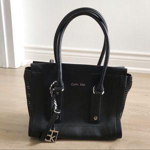 Calvin Klein black bag/purse